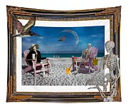 The Scientist's Vacation Tapestry