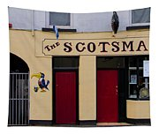The Scottsmans Bar - Donegal Ireland Tapestry
