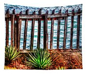 The Sea Fence Siesta Key Fla. Tapestry