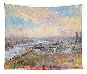 The Seine At Rouen Tapestry