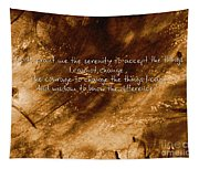 The Serenity Prayer 1 Tapestry