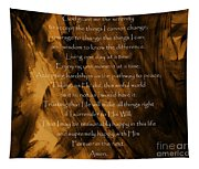 The Serenity Prayer Tapestry
