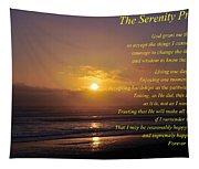 The Serenity Prayer Tapestry
