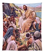 The Sermon On The Mount Tapestry