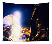 The Shepherds And The Angel Tapestry