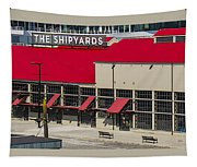The Shipyards In Vancouver Tapestry