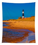 The Shore To Big Sable Tapestry