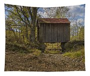 The Shortest Covered Bridge I Have Seen Tapestry