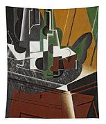 The Sideboard, 1917 Oil On Plywood Tapestry