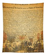 The Signing Of The United States Declaration Of Independence Tapestry