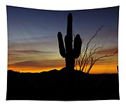 The Simple Beauty Of A Sunrise  Tapestry