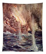 The Sinking Of The Gneisenau Tapestry