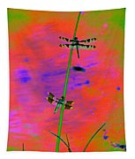 The Skimmer And The Whitetail Art #2 Tapestry