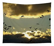 The Sky Opened Tapestry
