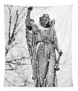 The Snow Angel Tapestry