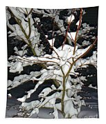 The Snowy Tree II Tapestry