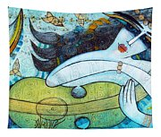 The Song Of The Mermaid Tapestry