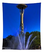 The Space Needle Tapestry