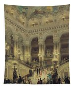 The Staircase Of The Opera Tapestry