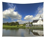 The Star Barn After The Storm Tapestry