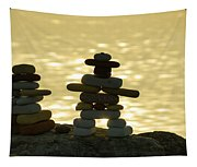 The Stone Couple Tapestry