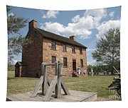The Stone House At Manassas Tapestry