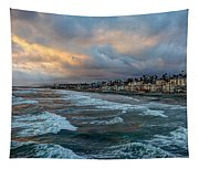 The Storm Clouds Roll In Tapestry