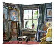The Studio Of Juliet Pannett Tapestry