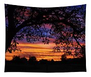 The Sun Sets For Mike Tapestry