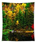 The Tarn Paint Version Tapestry