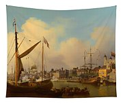 The Thames And Tower Of London On The King's Birthday Tapestry