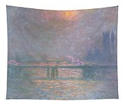 The Thames With Charing Cross Bridge Tapestry