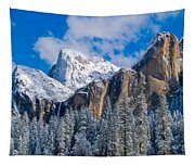 Cathederal Rocks And Bridalveil Tapestry