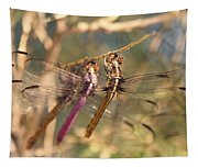The Three Dragonflies  Tapestry