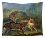 The Three Leopards Tapestry