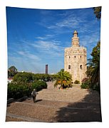 The Torre Del Oro, Gold Tower, Military Tapestry