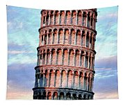 The Tower Of Pisa Tapestry