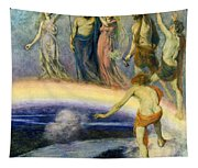 The Trek Of The Gods To Valhalla Tapestry