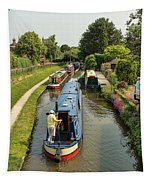 The Trent And Mersey Canal At Alrewas Tapestry