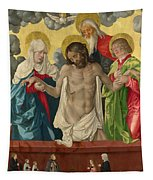 The Trinity And Mystic Pieta Tapestry