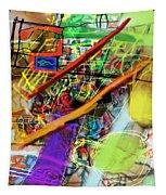 The Tzaddik Lives On Emunah 22b Tapestry