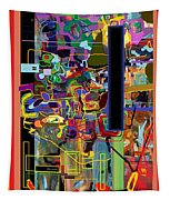 The Tzaddik Lives On Emunah 5 Tapestry