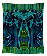 The Under Water Temple Tapestry