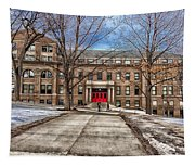 The University Of Wisconsin Education Building Tapestry
