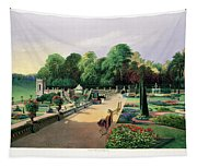 The Upper And Lower Terrace Gardens Tapestry