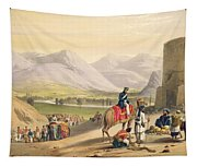 The Valley Of Maidan, From Sketches Tapestry