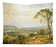 The Valley Of Wyoming Tapestry