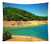 The View At Shasta Lake Tapestry