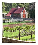 The Vineyard Barn Tapestry