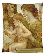 The Virgin Of The Angels Tapestry